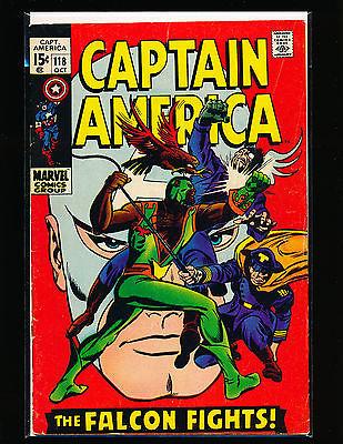 Captain America # 118    2nd Falcon   VG Cond.
