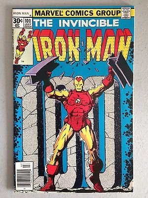 Iron Man #100 Marvel Lot Run Collection   Starlin Cover Solid NM