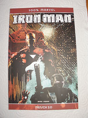 100 % MARVEL - BAND 68 -  IRON MAN  - TOP - ZUSTAND