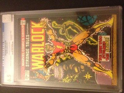 Strange Tales #178 (Feb 1975, Marvel) CGC 6.5 FA Magus; Warlock / Thanos/ etc.