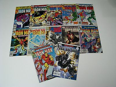 Huge lot of The Invincible Iron Man W/#'s 136,135,127,137,138,126,172 And More