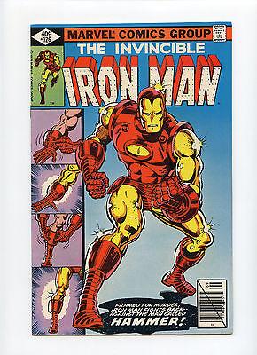 Iron Man #126 NM- Romita Layton Super Bright