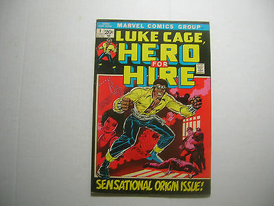 Marvel Comic - Luke Cage, Hero For Hire #1 - Origin Issue - High Grade
