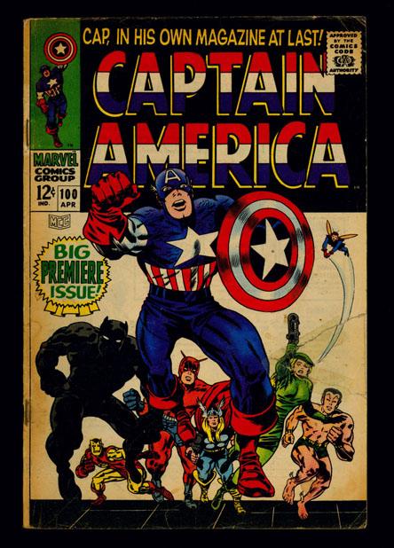 TJP003 LOT OF 17 CAPTAIN AMERICA #100-109,111,113-118 (1968-1969)