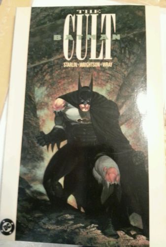 Batman the Cult TPB 1st Printing