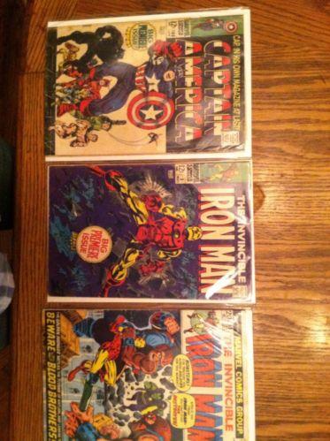 Invincible Iron Man #1 #55 1st Thanos Captain America #100 Plus Huge Lot+++
