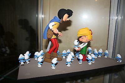 Fariboles Johan et Pirlouit les Schtroumpfs Peyo  no Leblon no Pixi Tintin