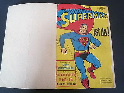 Superman  Sammelband mit  1966  Heft 1,2,3,4   Ehapa Verlag