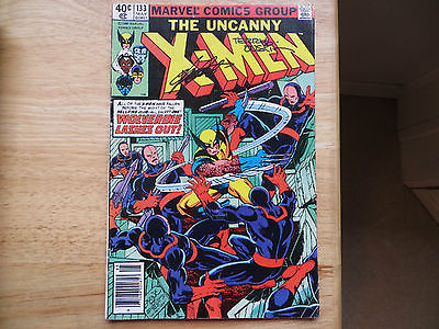 1980 BRONZE AGE UNCANNY X-MEN # 133 SIGNED 2X TERRY AUSTIN & CHRIS CLAREMONT