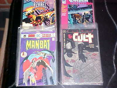 Batman Complete Sets The Cult - Sword Of Azrael - Man-Bat - Gotham Nights