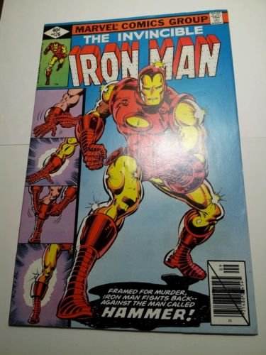IRON MAN #126   VF+   PART 3 OF ALCOHOL STORY OF STARKS     1979   WOW