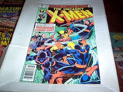 THE UNCANNY X-MEN # 133 BYRNE ART HELLFIRE CLUB WOLVERINE ALONE ISH LOOK FN+