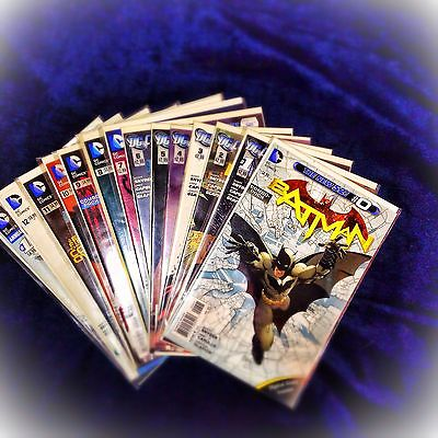 Batman Nos. 0-12, Annual 1, DC Comics, New 52, Scott Snyder, Night of the Owls