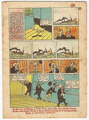 "TINTIN ""O PAPAGAIO"" ETOILE n°468/1944 (PÉRIODE PETIT VINGTIEME / LE SOIR)"