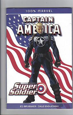 100 % Marvel 57 CAPTAIN AMERICA Supersoldier BRUBAKER in Topzustand fast wie neu
