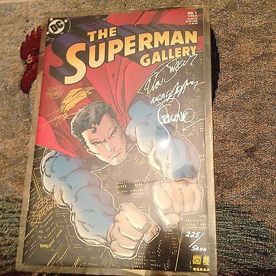 The Superman Gallery Signed