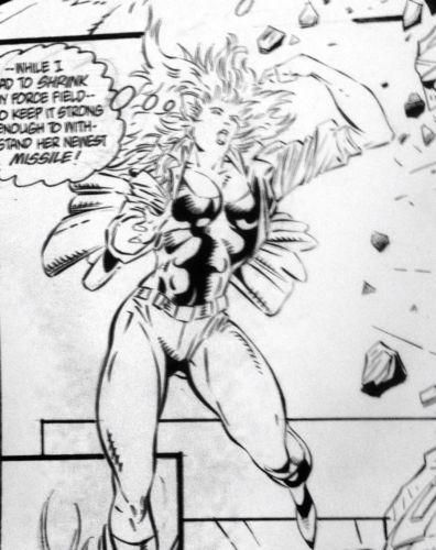 HERB Hulk TRIMPE FANTASTIC FOUR Unlimited WS Marvel Original Comic Art FF 1993