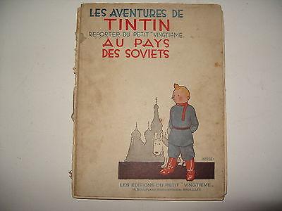 Tintin au Pays des SOVIETS 1930