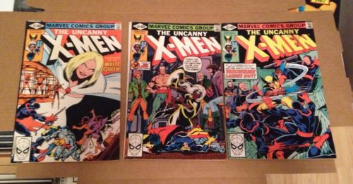 The Uncanny X-Men #131,132,133 Marvel Cimic Book's1980's Bronze Age