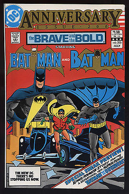 BRAVE and the BOLD #200 July 1983 VF/NM 9.0 W BATMAN 1st App OUTSIDERS 64-Pages