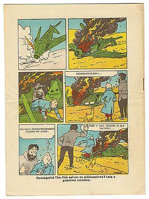 "TINTIN ""O PAPAGAIO"" CRABE n°391/1942 PORTUGAL (PÉRIODE PETIT VINGTIEME / SOIR)"