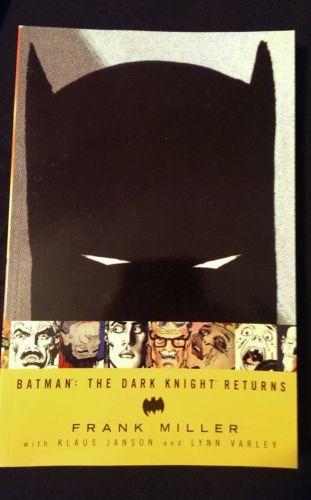 Batman: The Dark Knight Returns TPB Frank Miller