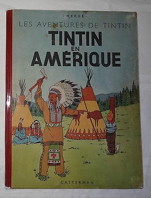 Tintin en amerique b2 1946 rare bon état