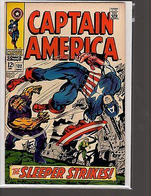 Captain America Silver Age 102 104 105 106 107 108 112 116 117 118 19 comic lot
