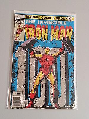 Iron Man #100 - Marvel Comics - July 1977 - 1st Print