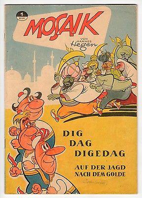 Mosaik Hannes Hegen Digedags Heft 1, Top