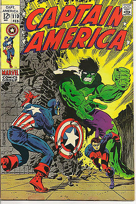 Captain America 110, 111, 112, 113, 114, 115, 116, 117, 118, 120