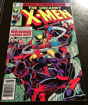 Uncanny X-Men #133 (VF) Wolverine Alone