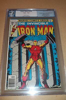 CGC/PGX Iron Man 100, Mandarin Appearance, Very Fine Minus 7.5