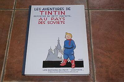 les aventures de Tintin au pays des soviets 1981