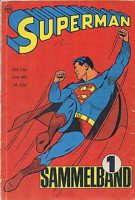 Superman - Sammelband 1 - 1966 (Heft 1, 2, 3, 4)