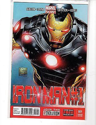 Iron Man #1 Quesada 1:100 Color Variant Cover NM