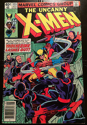 Uncanny X-Men #133 (VF-) - Wolverine: Alone