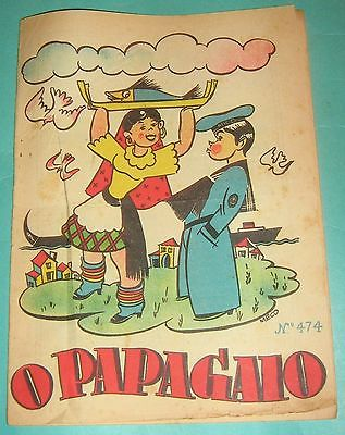 TINTIN L'Étoile Mysterieuse O PAPAGAIO PORTUGAL RARE N 474 11/05/1944