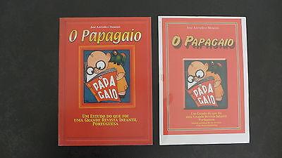 HERGE RARE ÉTUDE SUR TINTIN DANS O PAPAGAIO REVUE PORTUGAISE À VOIR 55 EXPL 2007