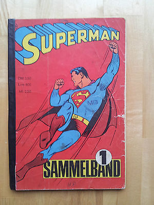 Superman Sammelband 1 Heft 1-4 / 1966 Ehapa Verlag