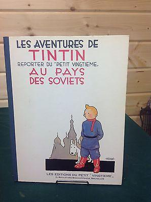 HERGE Les aventures de Tintin reporter du petit vingtieme Au pays des soviets