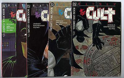 Batman The Cult #1-4 Set Avg NM 9.2/9.4