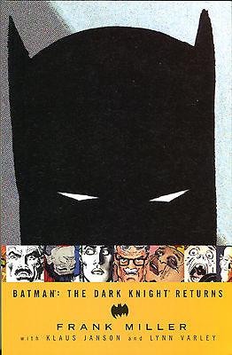 Batman The Dark Knight Returns tpb, Frank Miller, Klaus Janson