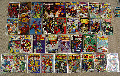IRON MAN COMIC LOT Spiderman Armor Wars Invincible 100-103 125 126 200 225 +MORE
