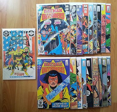 Batman & The Outsiders Lot - Vol 1 - 1983 - Includes #1 and Annual #1 - See Pics
