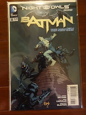 Batman (2011) New 52 #8-11 & Annual #1, Scott Snyder, Night of the Owls, FP, NM