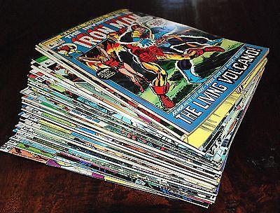 40 diff IRON MAN Comics #52 -  #137  Marvel 1972 High Grade, Pence Variants WOW