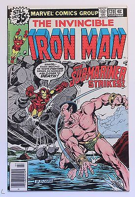 Iron Man #120 - #121 - #122  NM-