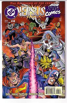 DC vs MARVEL #4 Near Mint versus NM SPIDER-MAN Lobo WOLVERINE Fantastic Four JLA
