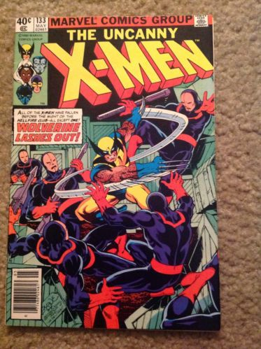 UNCANNY X-MEN #133 FIRST PRINT HELLFIRE CLUB APPEARANCE WOLVERINE COVER